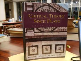 Critical Theory since Plato