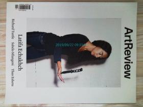 Art Review 2014/10-12 藝術評論美術外文雜志Latifa Echakhch