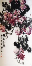 【来自艺术家本人】甘肃省美协会员高新进手绘 !硕果丰盈2126