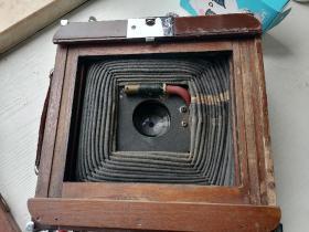 非常稀有的建国早期的海鸥牌木壳一照相机,国内相机制造发展史上的见证。