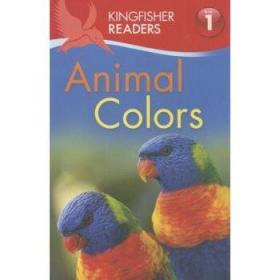 英文原版 儿童分级读物 Animal Colors
