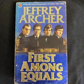 【英文原版小说】First Among Equals BY JEFFREY ARCHER