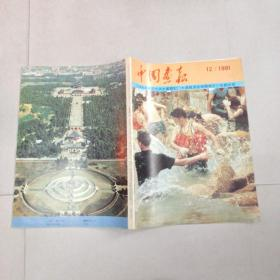 日文版小8开《中国画报》1991年12期 详细见图