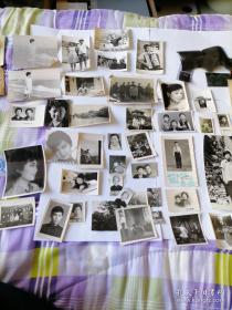 40张左右合售 <含黑白老照片,底片,照片袋>见图