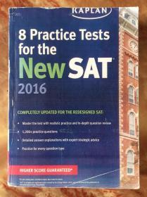 8 Practive Tests for the NEW SAT 2016