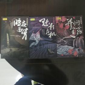 狄仁杰探案并州迷雾、魅影危机、暗夜迷情共3册