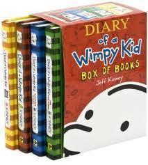 Diary of a Wimpy Kid (Box of Books)  小屁孩日记套装