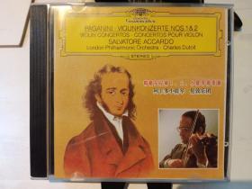 Paganini帕格尼尼第一、第二小提琴协奏曲