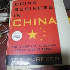 doing business in china how to profeit in the world\'s fastest growing market