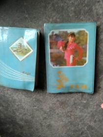 80年代2本日记本合售如图