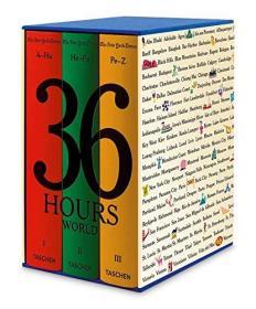 The New York Times: 36 Hours World   盒装3本一套