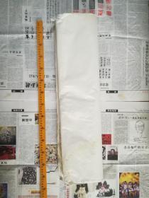 家藏约五六十年代四尺老宣纸47张
