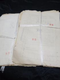 文革案卷(1971年。1975年审判卷)