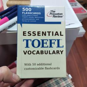 Essential TOEFL Vocabulary (Test Preparation)(Cards)