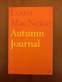 Autumn Journal(实拍书影,国内现货)
