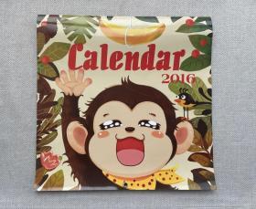 幼儿绘画挂历 2016
