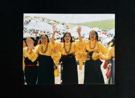 藏族老照片——《我们获胜了...》