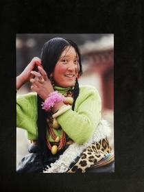 藏族老照片——《妆》