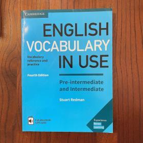 English vocabulary in use英文原版
