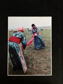 """藏族老照片——《草原盛装》白沙杯首届中国青年""""我心飞翔""""动感摄影大赛参赛作品"""