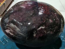 鸡血原石,重19.10公斤