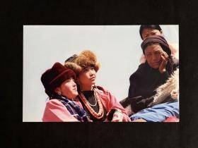 """藏族老照片——《羡慕》""""红河杯""""首届中国青年生存状况摄影大奖赛参赛作品"""