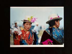 藏族老照片——《赶会》白沙杯首届中国青年我心飞翔动感摄影大赛参赛作品