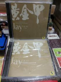 特别版-周杰伦 黄金甲 音乐专辑唱片光碟-2盒