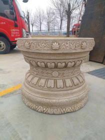 汉白玉石桌,整石雕刻,缠枝莲突出,漂亮美观,实用价值高,马云同款,收藏价值高,实用价值极高
