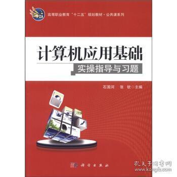 计算机应用基础实操指导与习题 石国河,张钦 编 9787030317285