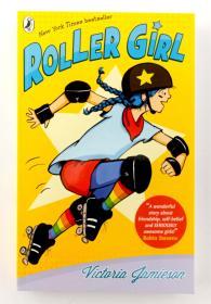 Roller Girl 滑轮女孩2016年纽伯瑞银奖作品纽约时报畅销书