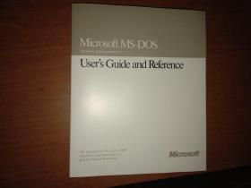 Microsoft MS-DOS. User`s Guide and  Reference(Operating System version5.0)