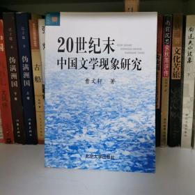 20世纪末中国文学现象研究