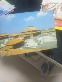 老版明信片散片 宮殿