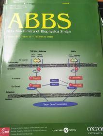 生物化學與生物物理學報–(外文版)2018年12期