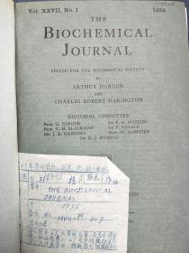 THE Journal of Biochemistry(生物化学杂志)