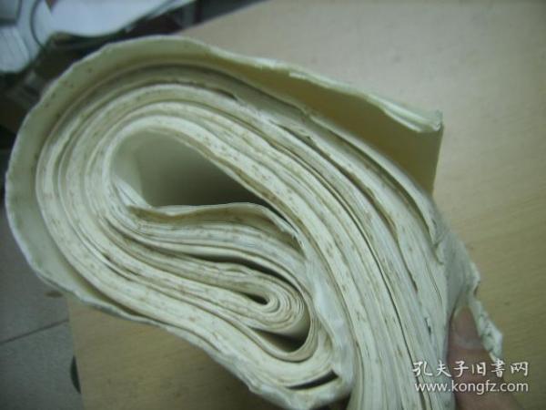 七八十年代老宣纸96张(68*25厘米)