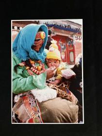 """藏族老照片——《冬日里的夏日》""""红河杯""""首届中国青年生存状况摄影大赛参赛作品"""