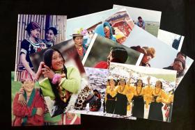 老照片13张合售——藏族(11张)黎族(1张)风景(1张)均为参赛作品