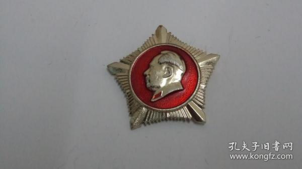 01672-文革时期毛主席像章 做毛主席的好战士  总政治部制