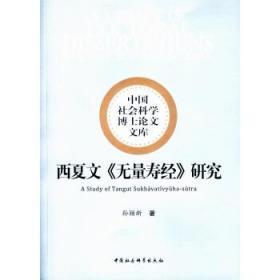 西夏文《无量寿经》研究 孙颖新 9787520322812