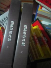 图解 道教天文历算学  紫薇斗数  上 命理卷  下推理卷  两厚本1152页