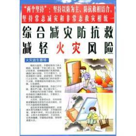 综合减灾防抗救,减轻火灾灾害风险 综合减灾减轻灾害风险编委会