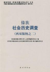 傣族社会历史调查.西双版.2 《中国少数民族社会历史调查资料丛刊