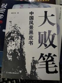 大败笔:中国风景黑皮书(私藏品佳