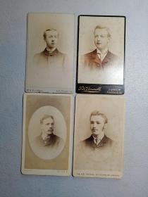[外国蛋白照片]约1870年。 清未同期英国维多利亚年代CDV名片肖像照片,英国绅士。非常珍贵。非现代印刷品。 标价为每张价格。两张以上包邮。  1900年前的绝大多数照片和照片册是蛋白照片。由于感光度低,这些照片在当时无法以底片放大,是从底片直接晒印的。蛋白照片也叫 CDV名片肖像照片,CDV,来源自法语(Carte de Viste)。