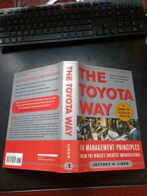 The Toyota Way:14 Management Principles from the World's Greatest Manufacturer