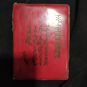 《毛主席诗词》64开 软精装 首都红代会新北大井冈山兵团 为人民战斗队 私藏 书品如图