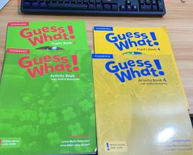 Guess what!3(Activity Book2、Pupil's Book2)+Guess what!4(Activity Book2、Pupil's Book2)