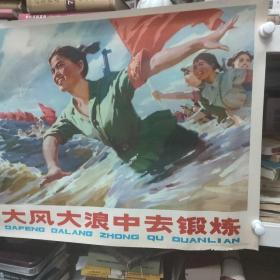 到大风大浪中去锻炼